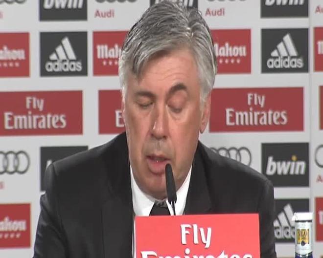 Ancelotti: No es comprensible que piten a Cristiano