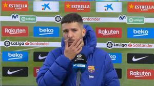 Jordi Alba: Nos hemos vuelto un poco locos... Una lástima