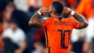 Memphis sigue su racha goleadora con Países Bajos