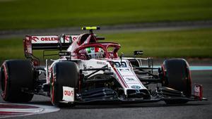 Alfa Romeo prepara su nuevo C41 para 2021
