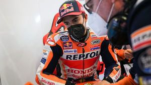 Susto para Marc Márquez en Jerez