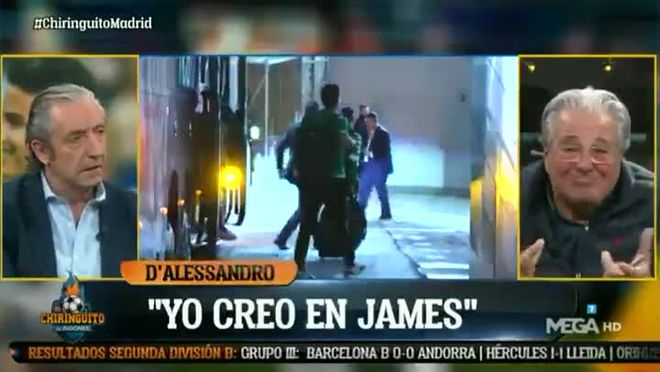 La lección de Tomás Roncero a Bale y James que dará la vuelta al mundo