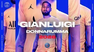 Así ha anunciado el PSG el fichaje de Donnarumma