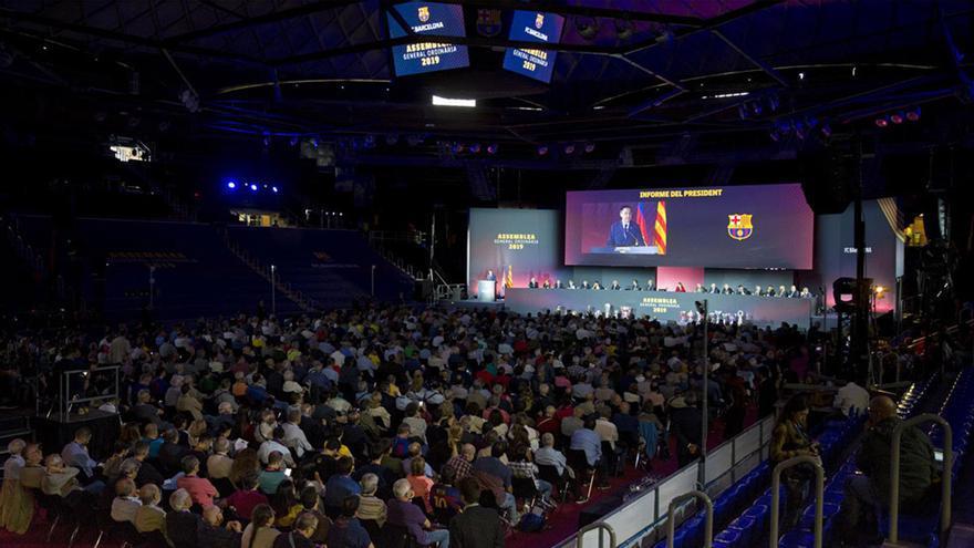 La Asamblea que puede cambiar la historia del Barça