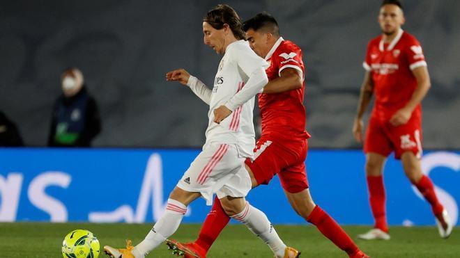 Modric: Si el árbitro ha pitado penalti, debe ser penalti