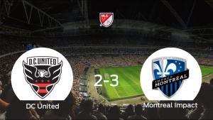 El Montreal Impact vence 2-3 al DC United y se lleva los tres puntos