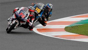 Arenas busca hoy convertirse en el nuevo rey de Moto3
