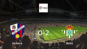 Huesca succumb to Betis with 0-2 defeat at El Alcoraz