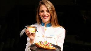 Verona presenta un boniato relleno con salsa de yogur y granada