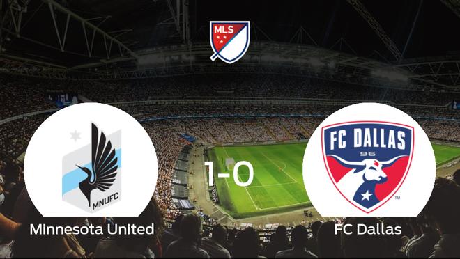 Tres puntos para el equipo minesotano: Minnesota United 1-0 FC Dallas
