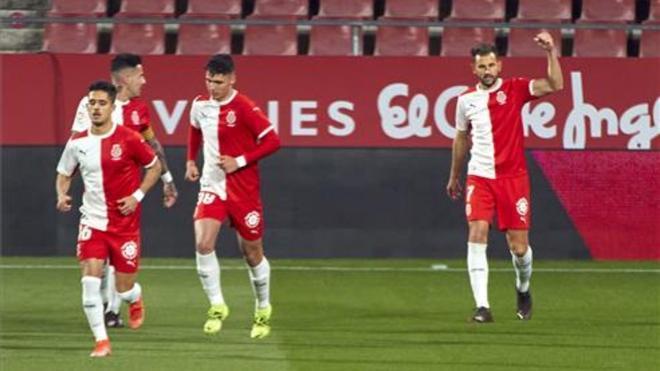 El Girona, cerca del playoff