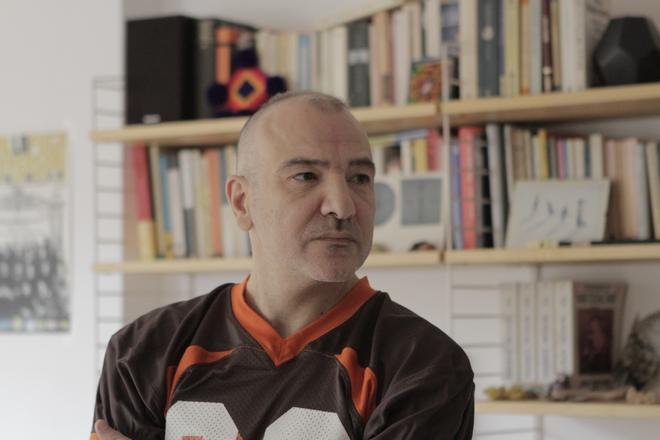 Guillem Sala, autor del libro El càstig (L Altra Editorial)