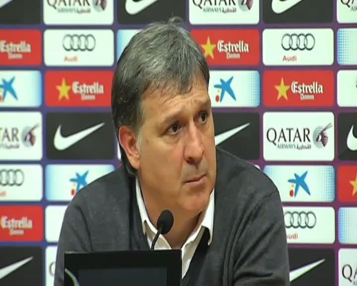 Martino: Ahora empezamos a jugar una liga totalmente distinta
