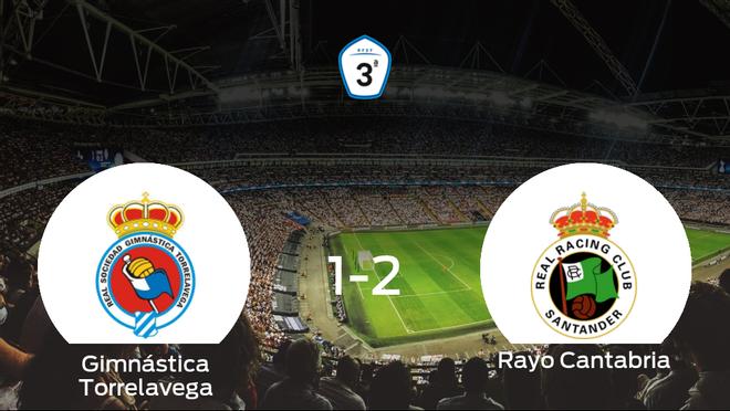 El Rayo Cantabria se impone a la Gimnástica Torrelavega y consigue los tres puntos (1-2)