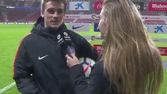 LALIGA | Atlético - Leganés (4-0): Griezmann: Me he equivocado en algunas palabras, pero nunca dentro del campo