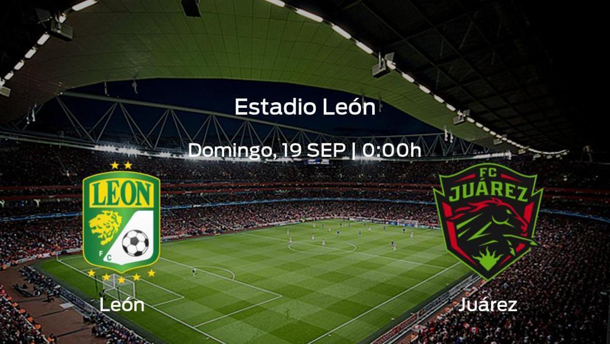 Jornada 9 de la Liga MX de Apertura: previa del encuentro León - FC Juárez