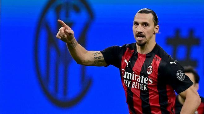 Ibrahimovic, el señor del derbi de Milán