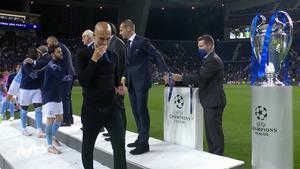 El gesto de Guardiola, tras perder la final de Champions, que está dando de qué hablar