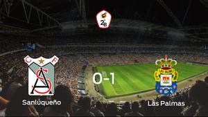 Las Palmas At. se impone al At. Sanluqueño y consigue los tres puntos (0-1)
