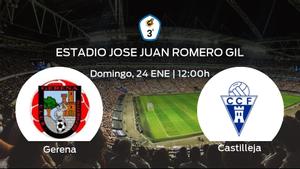 Previa del encuentro de la jornada 13: Gerena - Castilleja CF