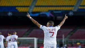 El mensaje de Zidane a Mbappé tras la goleada al Barça