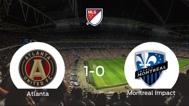 El Atlanta United se impone por 1-0 al Montreal Impact