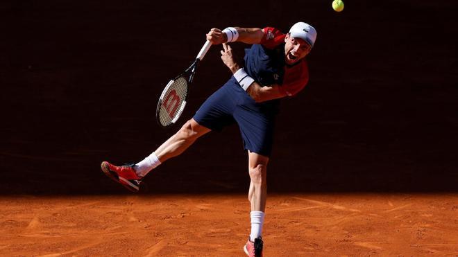 Roberto Bautista, durante el Mutua Madrid Open