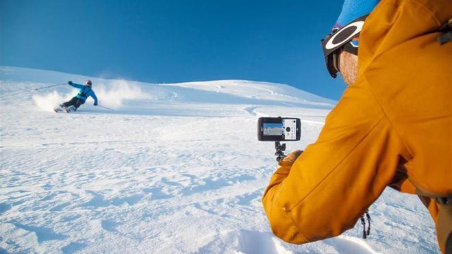 Trekker-X4, el smartphone que incorpora cámara de acción