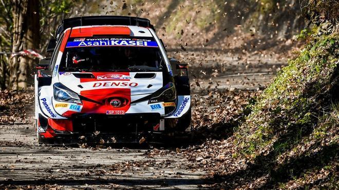 Evans y Toyota lideran el shakedown en Croacia