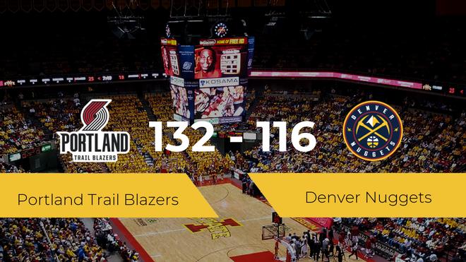 Portland Trail Blazers consigue derrotar a Denver Nuggets (132-116)