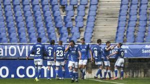 El resumen de la victoria del Oviedo ante el Sabadell