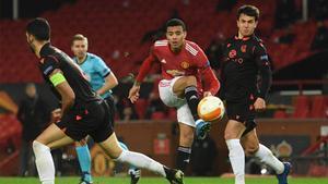 La Real Sociedad planta cara en Old Trafford