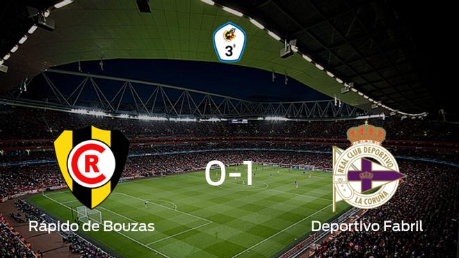 El Deportivo Fabril se lleva los tres puntos ante el Rápido de Bouzas (0-1)