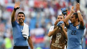 Uruguay barre a Rusia y acaba primera de grupo