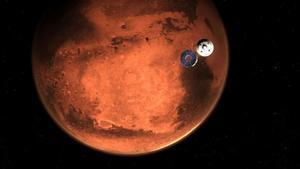 Una flota de naves espaciales terrestres invade Marte