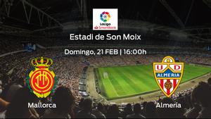 Previa del partido: el Mallorca defiende el liderato ante el Almería