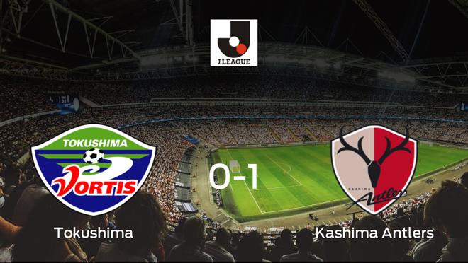 Victoria del Kashima Antlers por la mínima en el estadio del Tokushima Vortis (0-1)