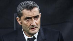 Valverde afirmó que el Barça estaba un poco más obligado a ganar