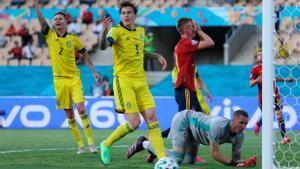 España vs Suecia: A España le faltó el gol ante Suecia