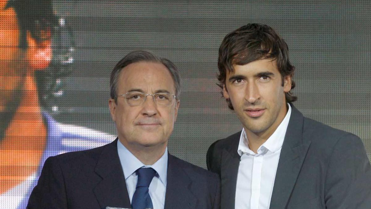 Raúl y Florentino Pérez