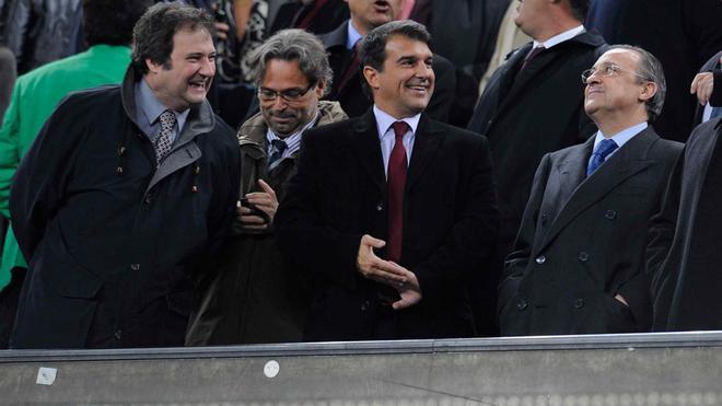 Laporta volverá a vivir un Clásico como presidente del Barça