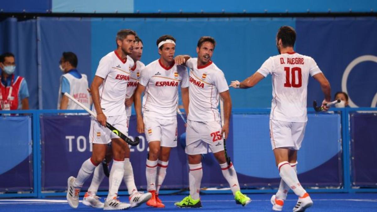España se reivindica en hockey