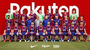 Así ha sido la foto oficial del FC Barcelona
