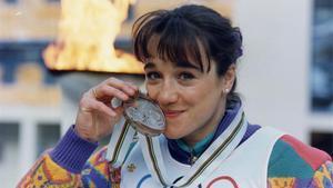 Blanca Fernández Ochoa, bronce en Albertville 1992