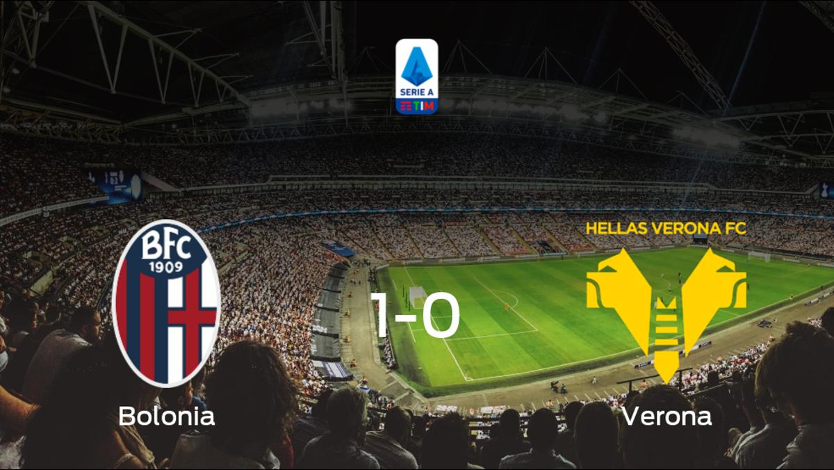 El Bolonia se lleva tres puntos después de ganar 1-0 al Hellas Verona
