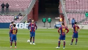 Un Barça triste