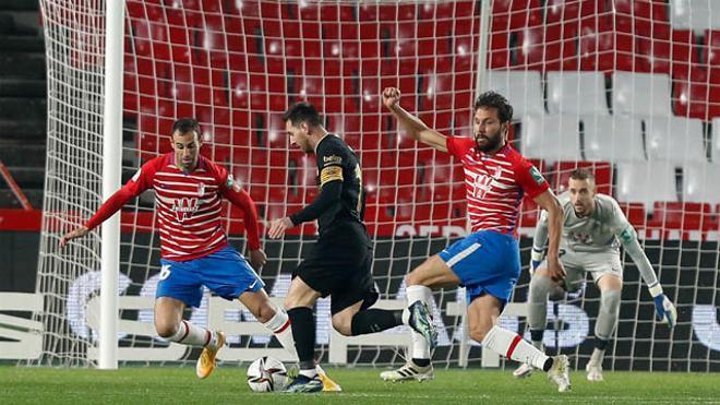¡Qué maravilla! No marcó ningún gol pero fue el mejor: revive el brillante partido de Messi ante el Granada