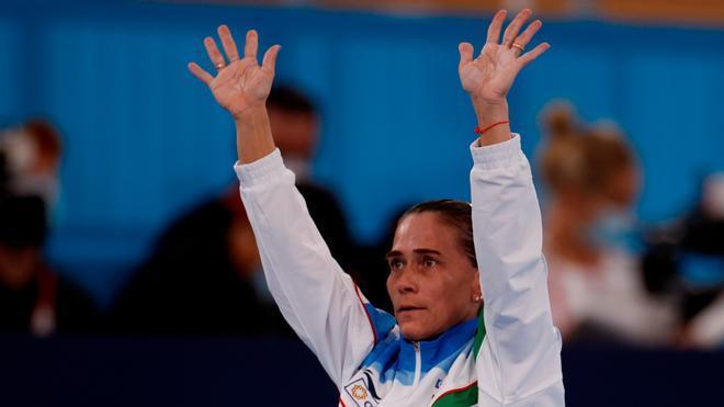 Oksana Chusovitina, la eterna leyenda, se despide de los Juegos tras 29 años compitiendo