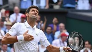 Novak Djokovic llegó a los 16 Grand Slam
