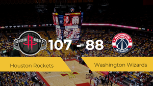 Triunfo de Houston Rockets ante Washington Wizards por 107-88